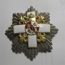 Spain Cuba Order of Military Merit Silver Enamel Spanish American War 1898
