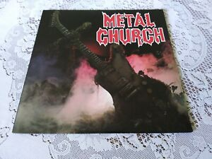 METAL CHURCH. SELF TITLED. ELEKTRA. 60471-1. 1985.