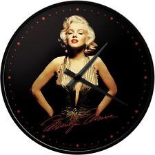 Orologio da muro Vintage Design Anni 50 Marilyn Monroe - Gold Bellissimo!