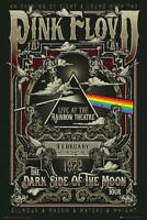Pink Floyd Poster Live at the Rainbow Theatre, London 61 x 91,5 cm