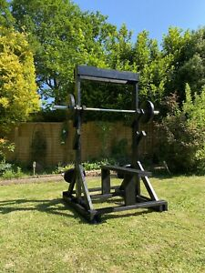 Bench Press Squat Rack Pull Up Bar Multi Gym
