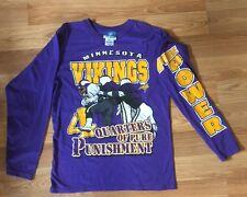 NFL Minnesota Viking Long Sleeve T-Shirt Size XL 18/20 EUC