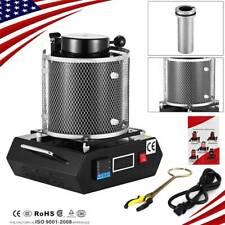 3KG Automatic Electric Metal Melting Furnace Gold Silver Smelter Machine 110V US