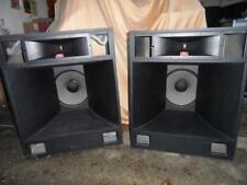 "JBL ALTOPARLANTI CON TWEETER Horn & 15"" Bass, COPPIA stereo con crossover JBL"