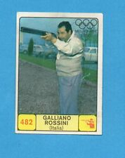 CAMPIONI dello SPORT 1968-69-Figurina n.482- ROSSINI - ITALIA -NEW