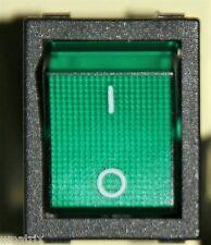 Aktion 50/100 Stück Wippschalter grün 16A 250Vac Profi Ersatzteil