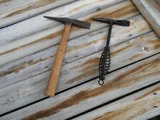 Lot of 2 Welding Hammers, Atlas Tomahawk + 1 other, Excellent Condition, Look!