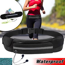 Waterproof Waist Belt Bag Running Jogging Outdoor Pocket Fanny Pack Bum Gym Bag
