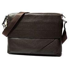 Mens Business Leather Handbag Classic Briefcase Laptop Messenger Shoulder Bag