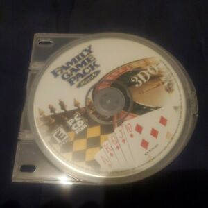 Family Game Pack Royale 3DO [PC CD ROM] Disc ONLY