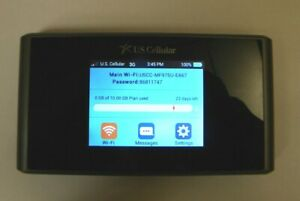 ZTE Unite III Mobile Hotspot for US Cellular Original Box Directions Carry Case