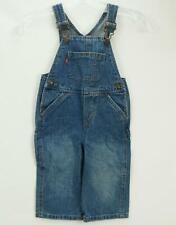 Vintage Levis Bib Overalls Denim Jeans Blue Toddler 18M