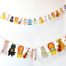 Baby Shower Birthday Party Decor Set Balloon Paper Pompom Banner Bunting Flags