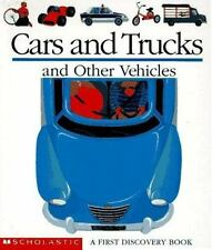 Cars and Trucks and Other Vehicles (First Discovery Books) by Jeunesse, Gallimar