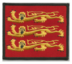 England Three Lions patch - Richard I arms iron or sew on patch  ENGLAND PATCH