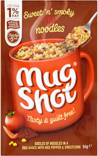 Mug Shot Noodles BBQ Flavour 5 x 56g - Will Ship Worldwide From UK