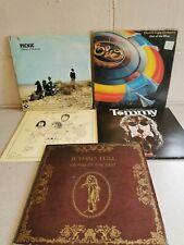 Job Lot Bundle RECORD VINYL LP COLLECTION 70's Rock Prog Elo The Who Pink Floyd