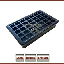 More details for plastic beer drip tray rectangular 5