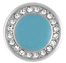 """4 Get One $6.95 Snap Free Ginger Snaps """"Turquoise With Stones� Sn07-82 Buy"""