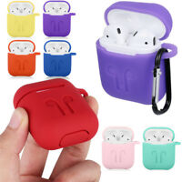 For Airpods Soft Silicone Case Shockproof Thicken Earphone Cover Protective moda