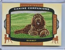 2017 UD Goodwin Champions Canine Companions Patch CC3 Barbet