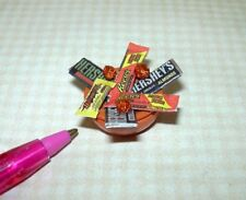 Miniature Adinolfi Orange Filled Halloween Candy Bowl DOLLHOUSE 1:12 Scale