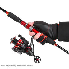 Fishing Gloves 3 Cut Fingers Half Finger Anti-slip Fingerless Sports Mit