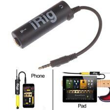 More details for irig guitar interface amplitube guitar converter iphone ipad garage band logic