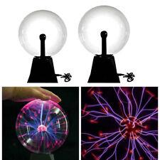 2 Stück Plasmakugel Lustige Wissenschaft Globe Tisch Glühlampe Glitter