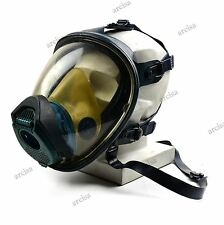 Drager Futura full face mask protection respirator gas mask blue full view Blue