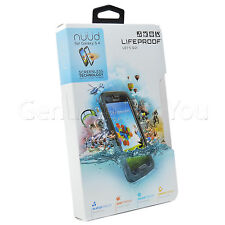 Genuine Lifeproof Nuud Impermeable Funda Protectora Para Samsung Galaxy S4-Negro