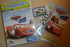Leap Frog LEAPSTER 1 I 2 II Juego Disney Pixar Cars Supercharged Gwo Completa