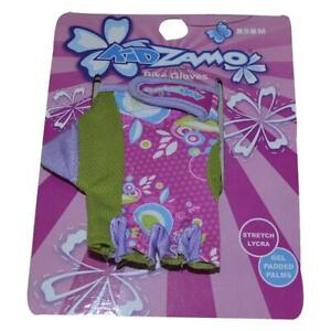 Kidzamo Kids Gloves Pink/Green Small Ages 3-7