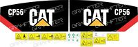sticker   caterpillar CP56 adhesive decal compatible