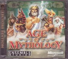 PC Game:  AGE OF MYTHOLOGY COLLECTOR'S EDITION + Soundtrack + Making of DVD RPG