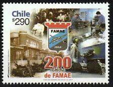 Chile 2011 Scott # 1577 FAMAE Weapons Manufacturer Bicentenary MNH