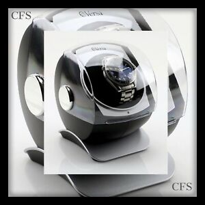 Versa Automatic Single Watch Winder with Sliding Cover