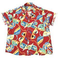 80s Hawaiian Shirt Medium Vintage Sunglasses Print