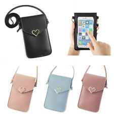 Shoulder Bag new Card Wallet Crossbody pocket pu Leather Pouch phone Case Cover
