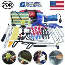 108 PDR Rods Tools Paintless Dent Repair Removal Set Dent Lifter Line Broard Kit