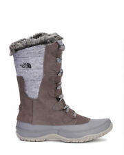 THE NORTH FACE WOMEN'S SIZE 10 WATERPROOF WINTER BOOTS FUZZY NUPTSE PURNA