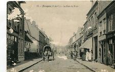 FRUGES La rue du Four Boucher Soldat 128 è Régiment écrit à Aulnois en Perthois