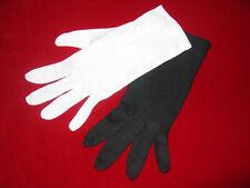 Baumwoll-Handschuhe schwarz