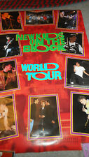 New Kids On The Block 1990 World Tour  Poster