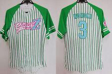 2012 Momoiro Clover Z Momokuro J-POP Baseball Jersey Shirt Momoka Ariyasu #3