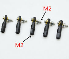 5Pcs M2 Model Boat Rudder Connected Steering Gear to Use RC Boat #314
