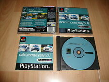 COLIN McRAE RALLY 2.0 BY CODEMASTERS FOR SONY PS1 UK VERSION USED COMPLETE