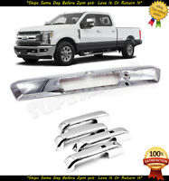 Fits 2017-2020 Ford SuperDuty F250 F350 Chrome Tailgate+Handle Overlays Cover XL