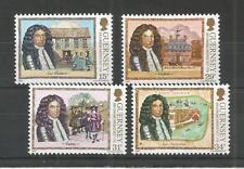 Guernsey 1987 Sir Edmund Andros SG, 400-403 UM/m N/H LOTTO R713