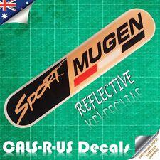 Japan MUGEN Power Sports Car Sticker CIVIC Honda REFLECTIVE Decal JDM Racing